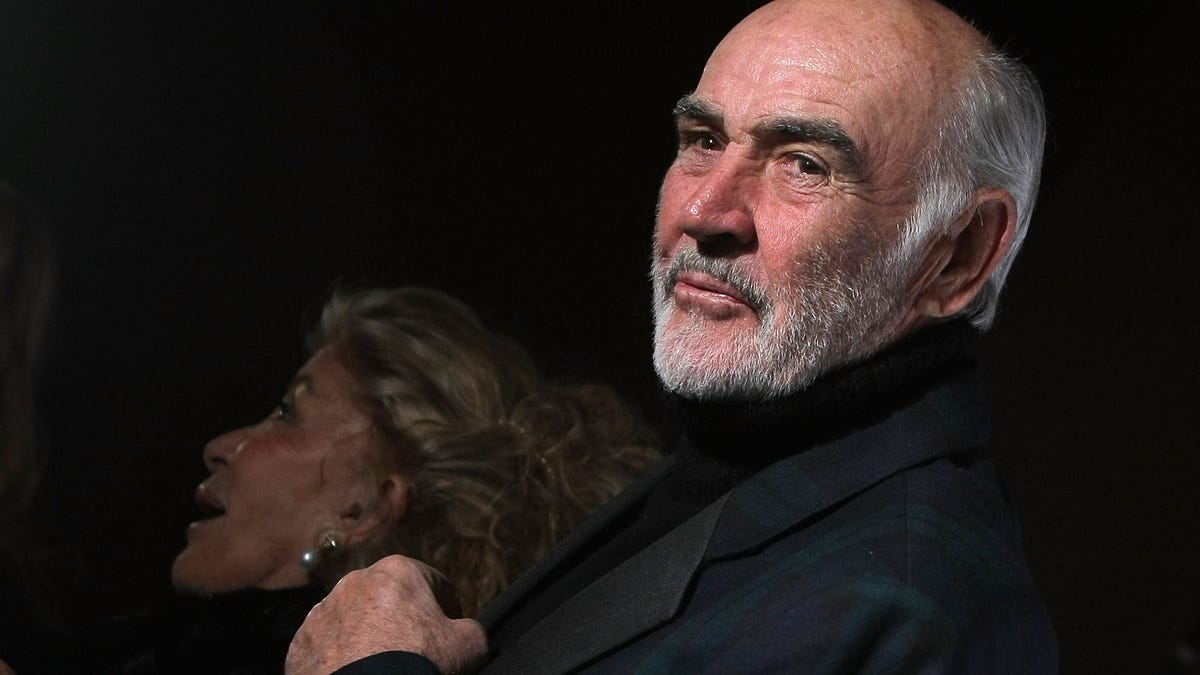 Sean Connery Was My Movie Dad. I'm Only Now Reckoning With His Death And The Man He Was