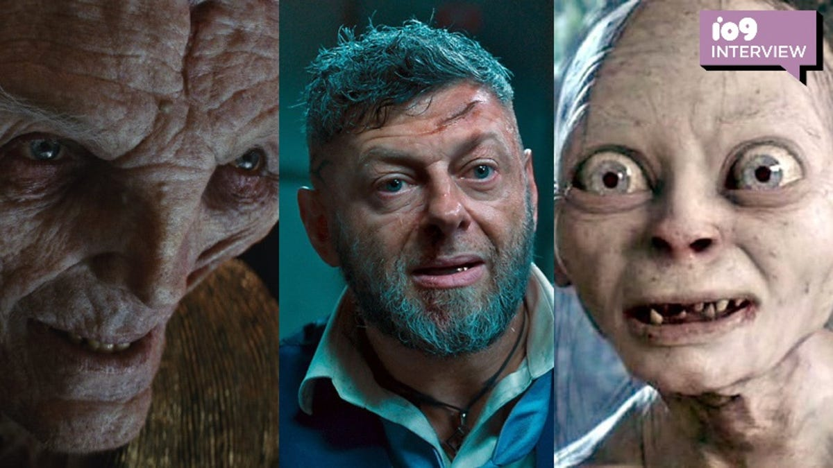 Andy Serkis on Snoke's Fate, Middle-earth's Return, and Black Panther 2