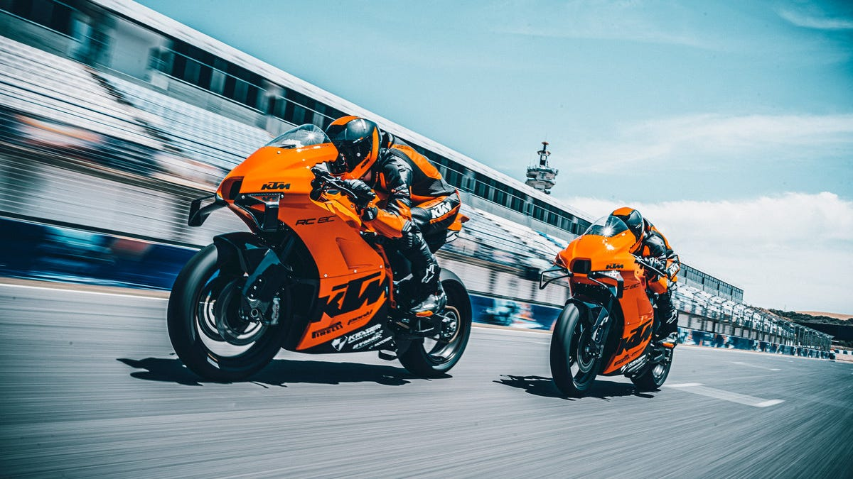 KTM's Track-Only Monster Sold Out In Five Minutes
