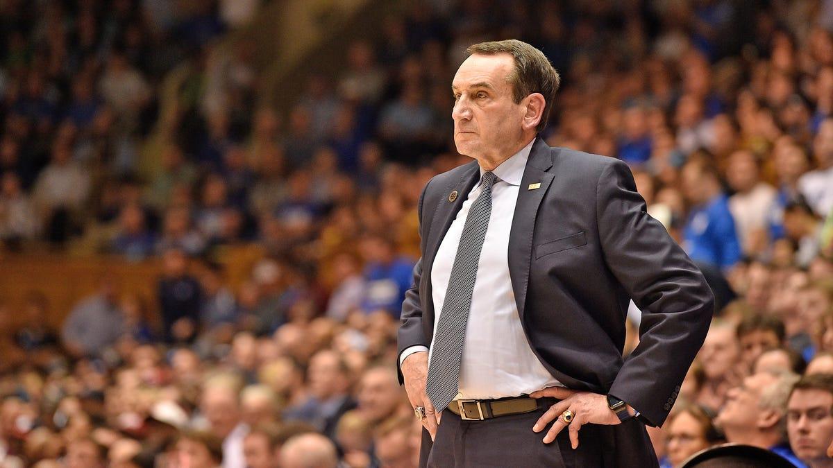 Coach K is retiring — Duke Basketball will be buck wild next season
