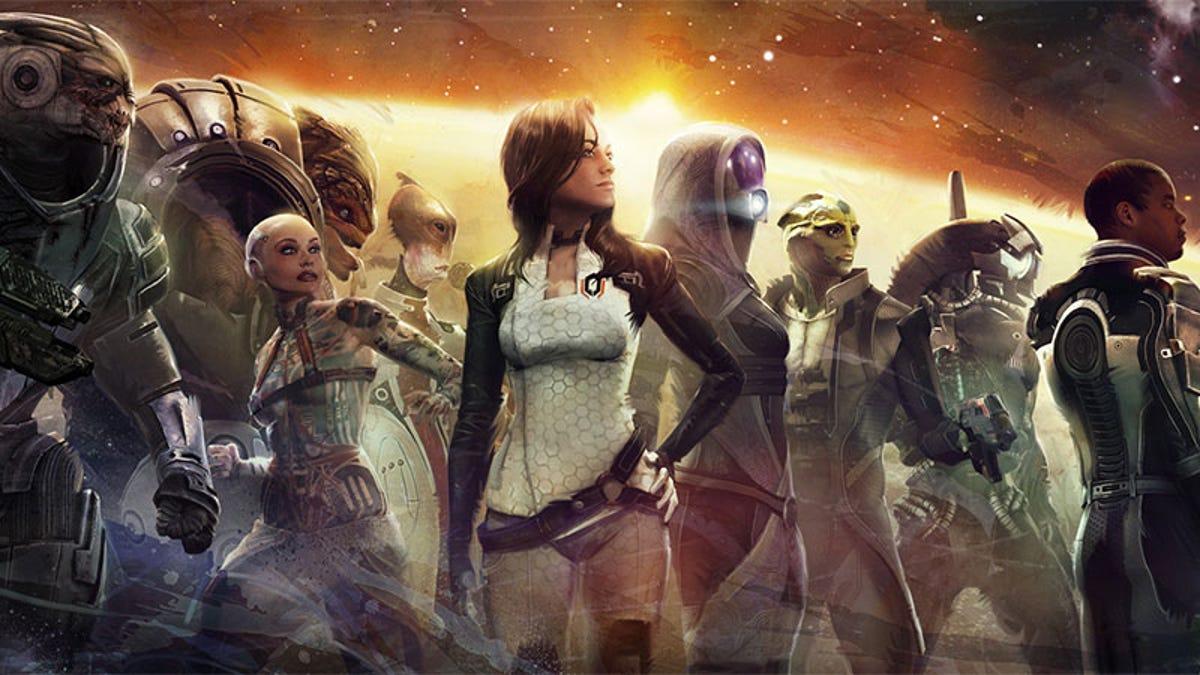 Mass Effect - cover