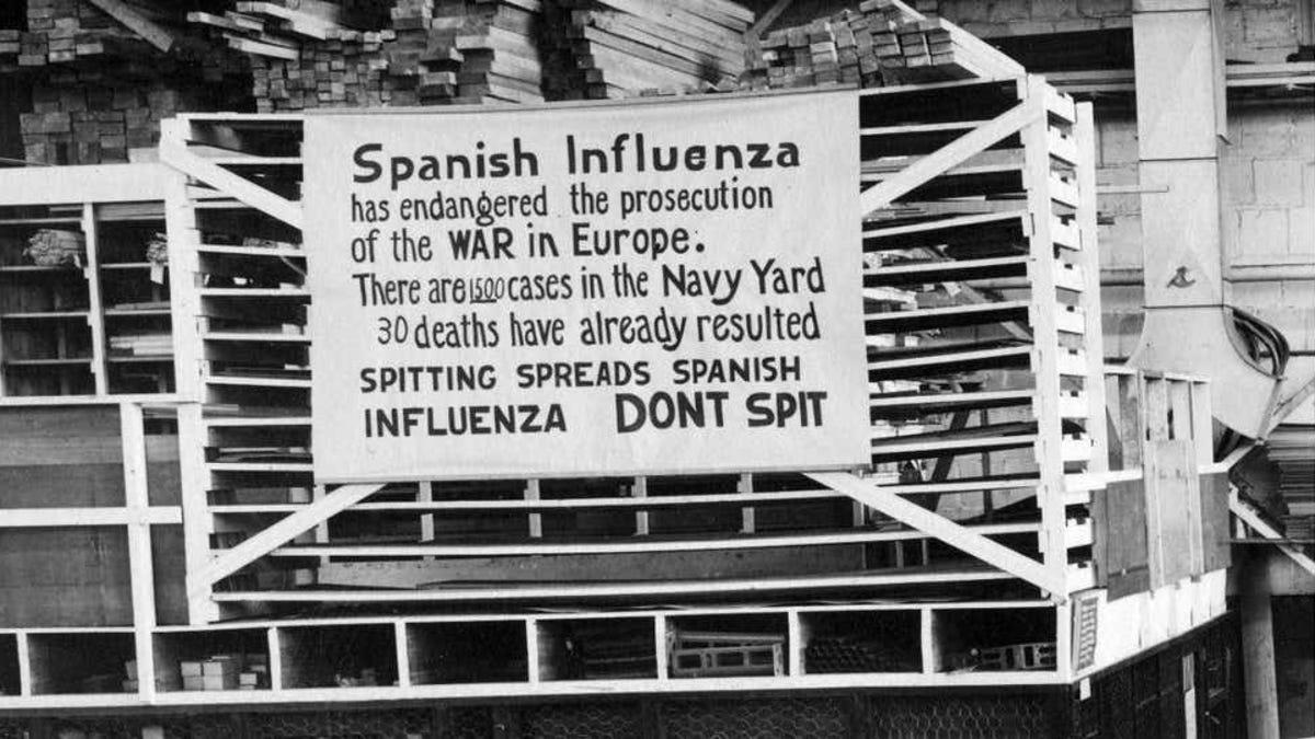 El Covid-19 ha matado tanto como la gripe española de 1918 en EE.UU.