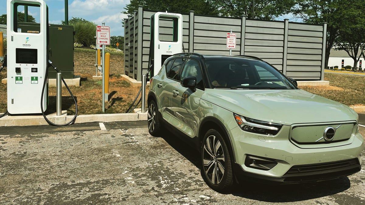 1.200 Meilen und eine Volvo XC40-Ladung: Überlebt ein modernes EV einen Amerika-Roadtrip?