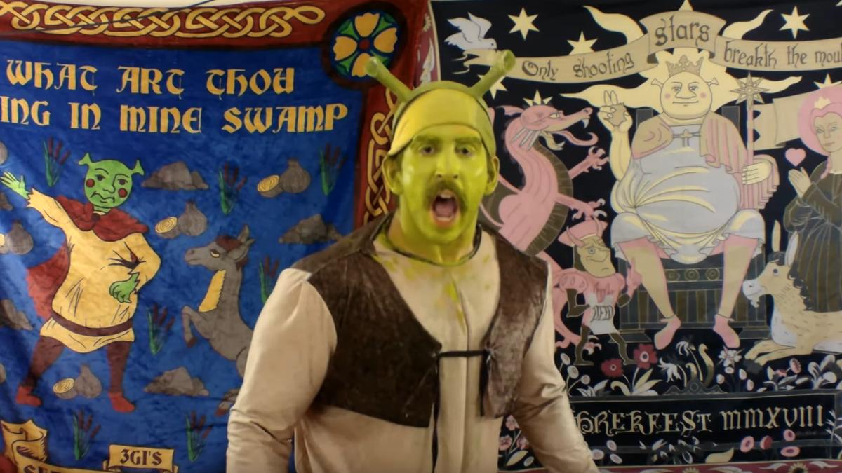 A look inside the meme-addled mind behind Shrekfest