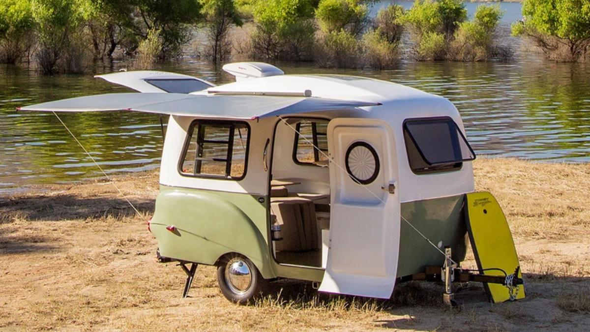 Dieser Retro-Camper ist eines der vielseitigsten Wohnmobile, die Sie je finden werden