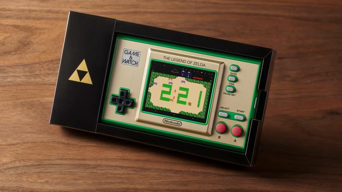 Zelda 35th Anniversary Game & Watch Revealed By Nintendo