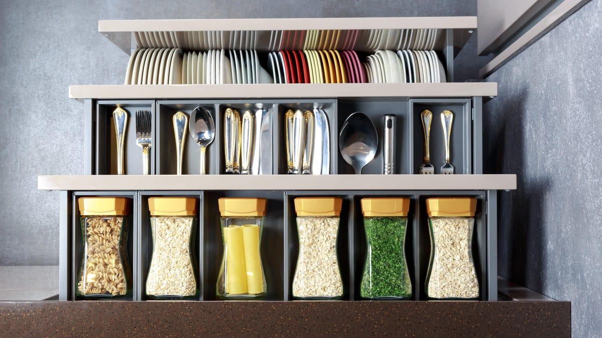 10 Elegant Ways To Organize Your Kitchen
