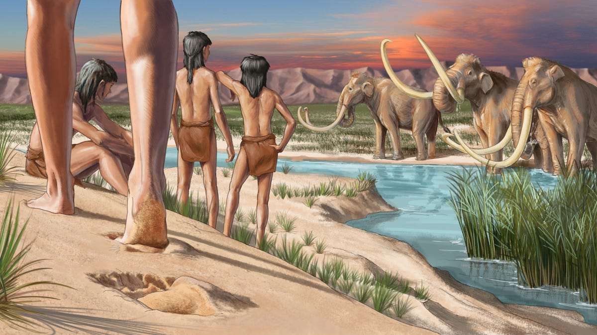 Footprints Suggest Humans Migrated Deep Into North America Earlier Than Previously Known