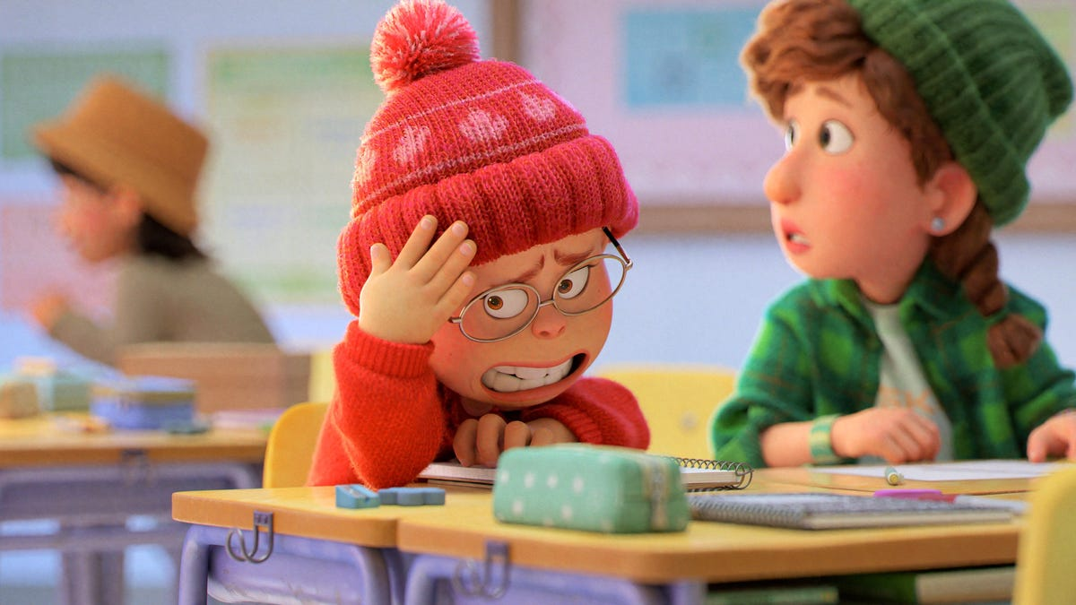 This trailer for Pixar's Turning Red is very embarrassing