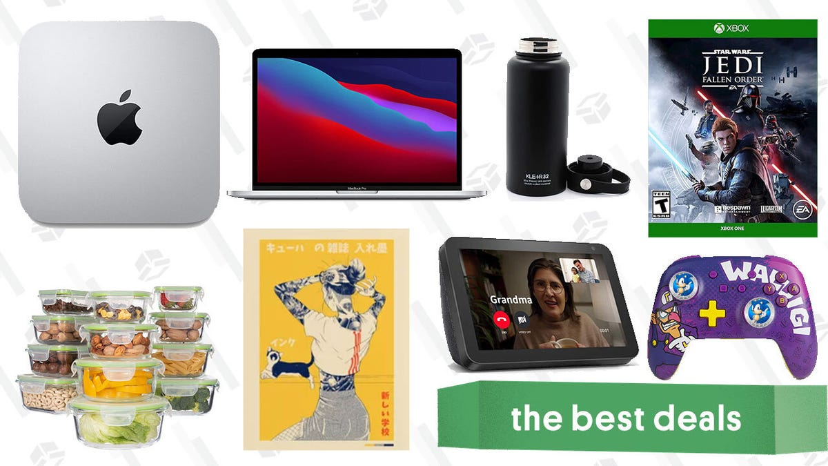 Tuesday's Best Deals: Apple MacBook Pro, Waluigi Switch Controller, Echo Show 8, Red Dead Redemption 2, Society6 Poster Sale, and More