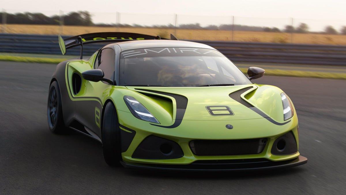 Der Lotus Emira GT4 scheint ein würdiger Abschied zu sein€