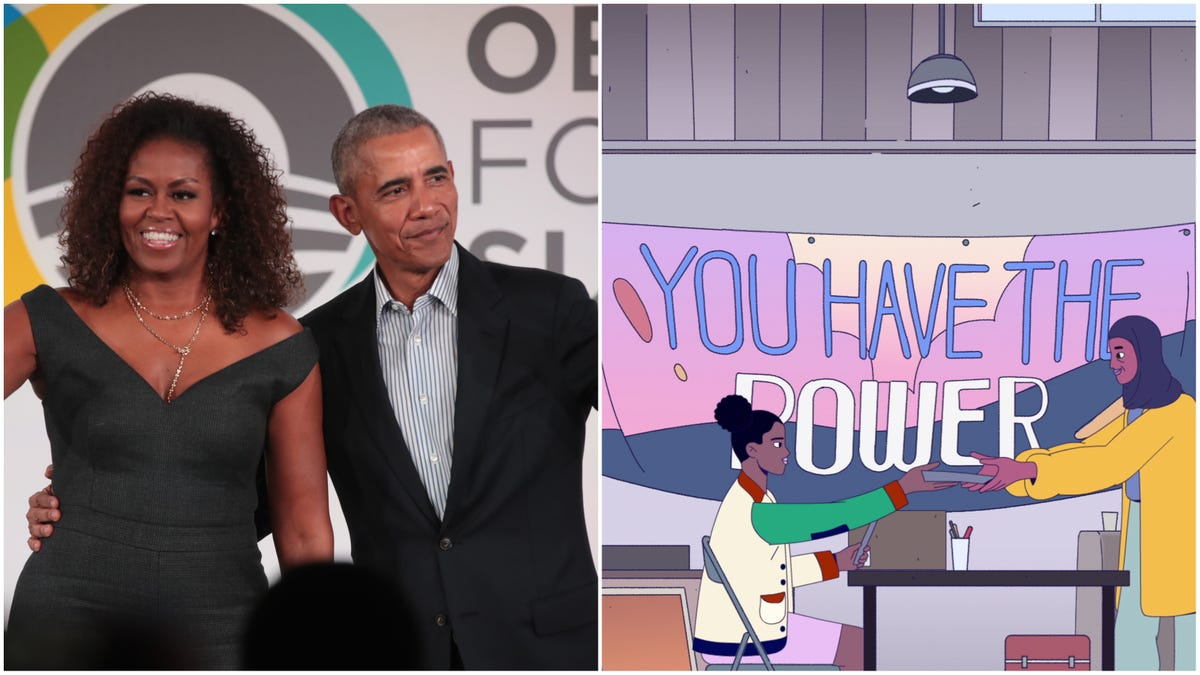 Barack and Michelle Obama Are Bringing a 'Civics Remix' in New Kids Series for Netflix