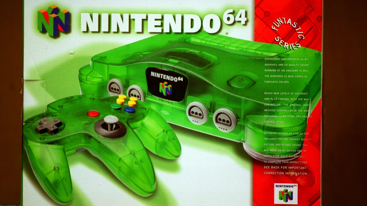 The Nintendo 64 Is Now 25 Years Old