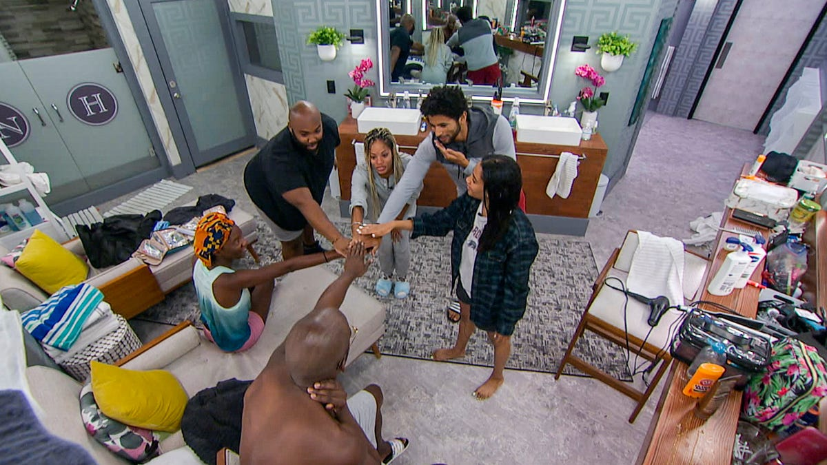 CBS' Big Brother Has Never Had a Black Winner Before. This Season, 'The Cookout' Took Matters Into Their Own Hands
