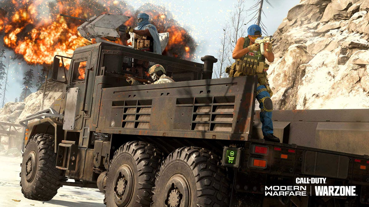 Call Of Duty Warzone's Big Trucks Have Become A Popular (And Annoying) Way To Win