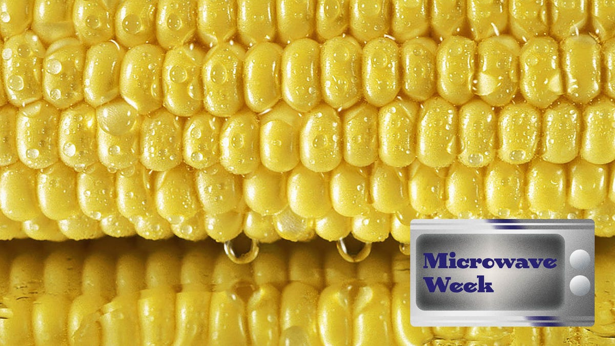 How to cook your summer sweet corn in the microwave