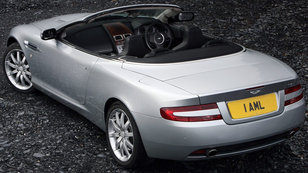 Every Day Rich People Could Buy Aston Martin DB9s And Choose Not To