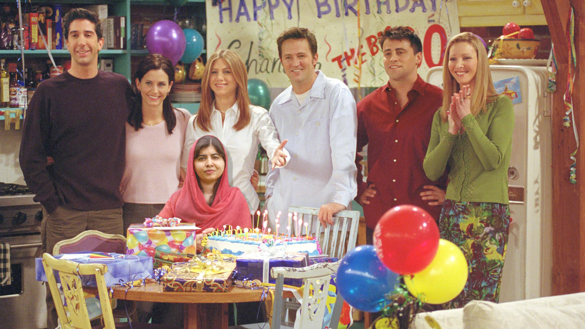 The One Where Malala Joins the Friends Reunion?