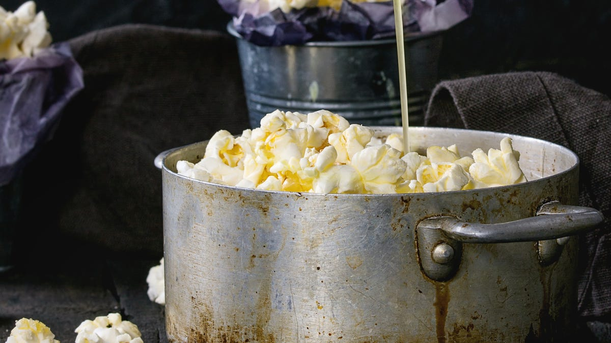 You Should Sauce Your Popcorn, Yes You Should