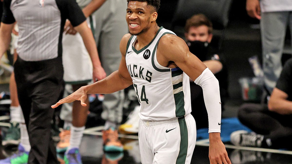 Giannis is going to wear this one, no matter how the rest of this series goes