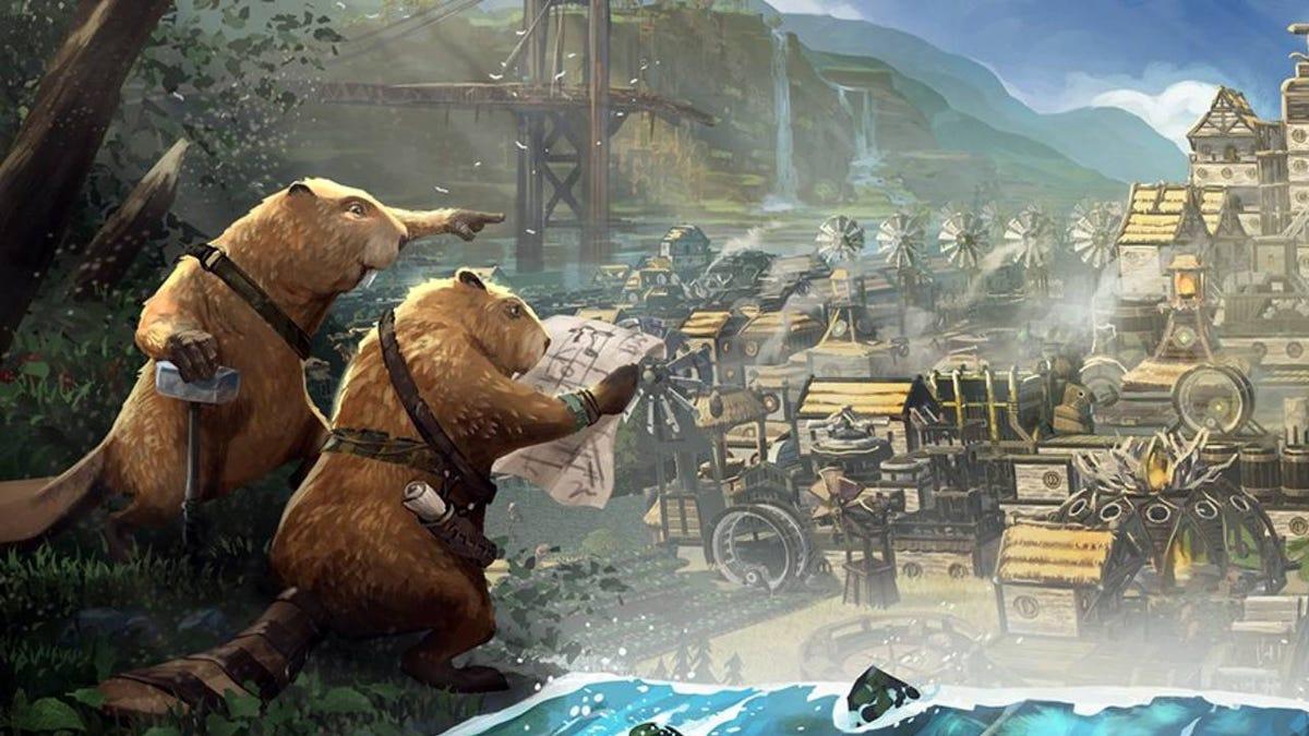 Lumberpunk Beaver City Building Game Becomes Steam Top Seller