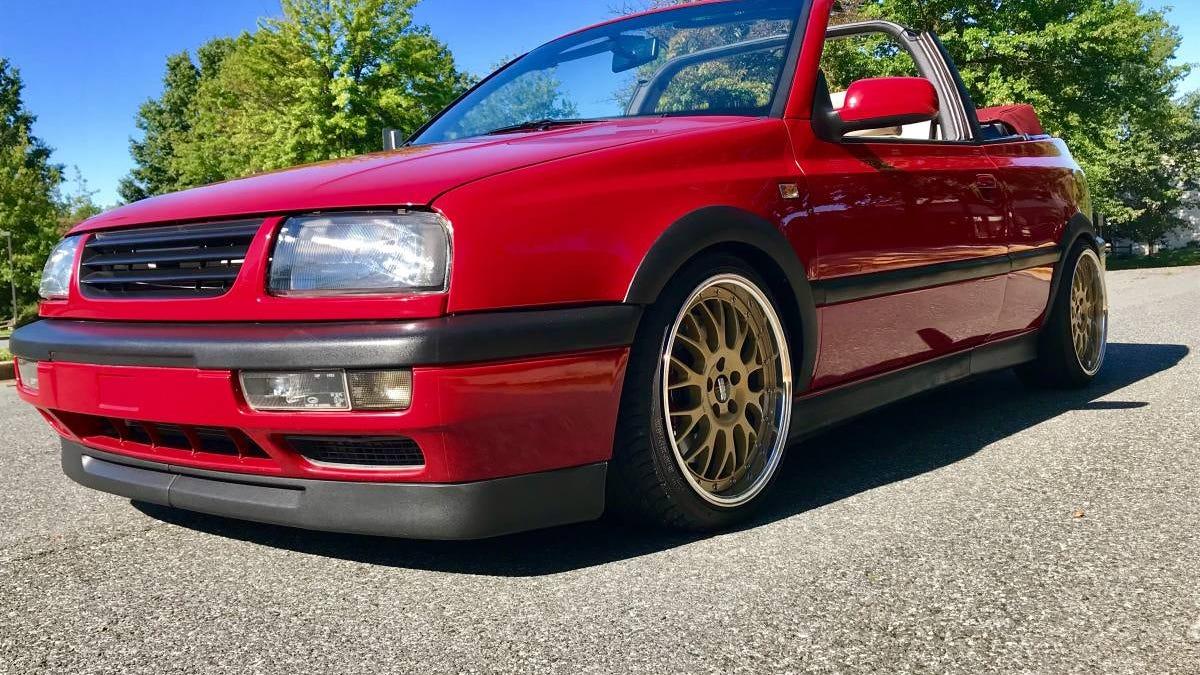 Bei $ 15.500, ist diese Imola Red 1985 VW Cabrio ein Deal?