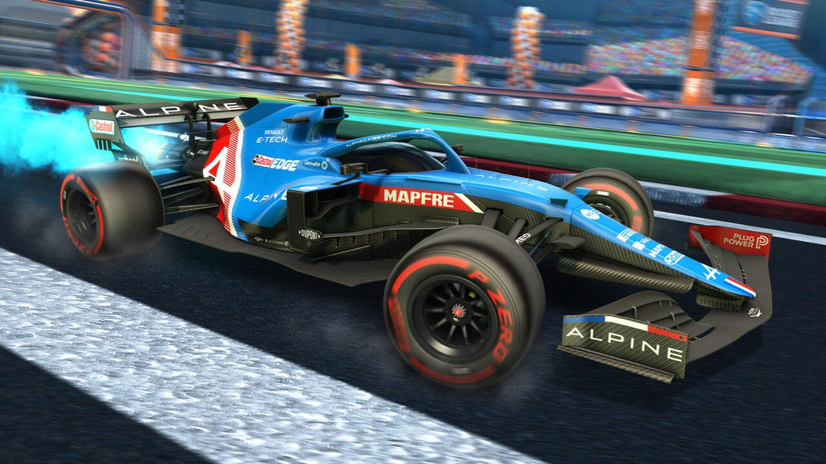 Rocket League's Formula 1 DLC Is Coming And I'm Trying To Be Strong