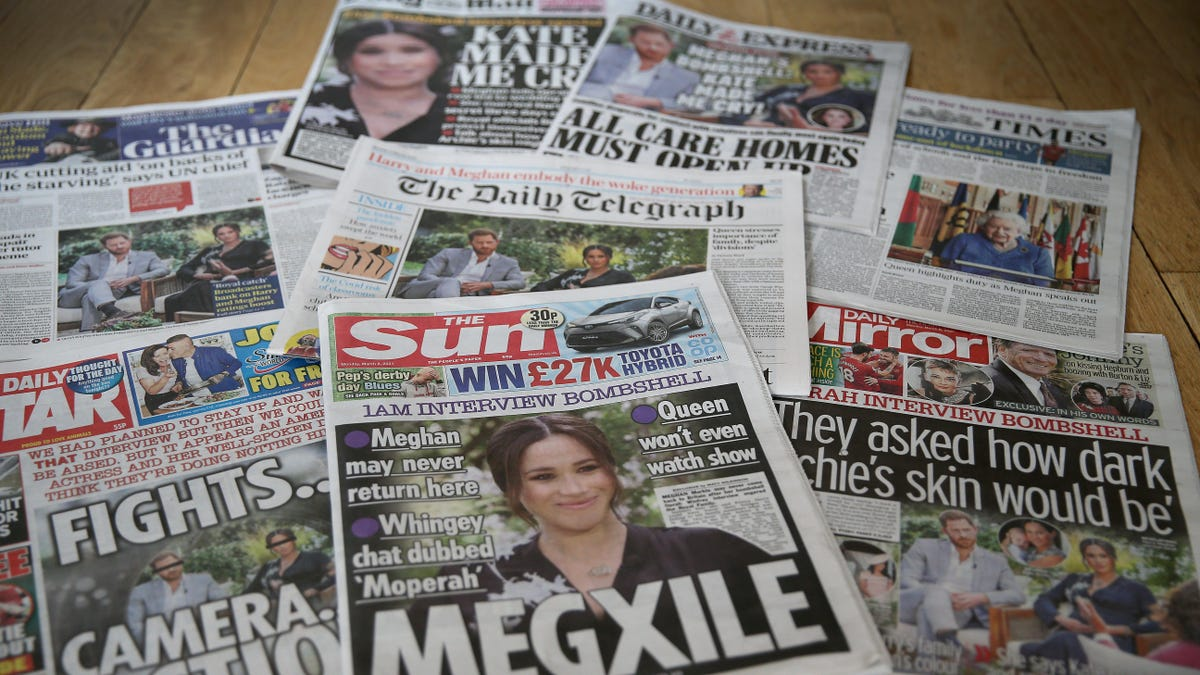 Seems Unlikely That Meghan Markle Is a Time-Traveling Serial Killer, But Tabloids Can Dream