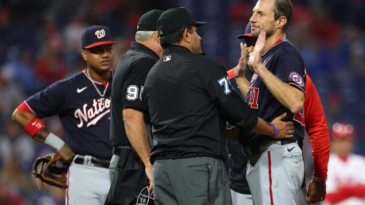 Driving pitchers crazy is the point — you can tell from Rob Manfred's grin