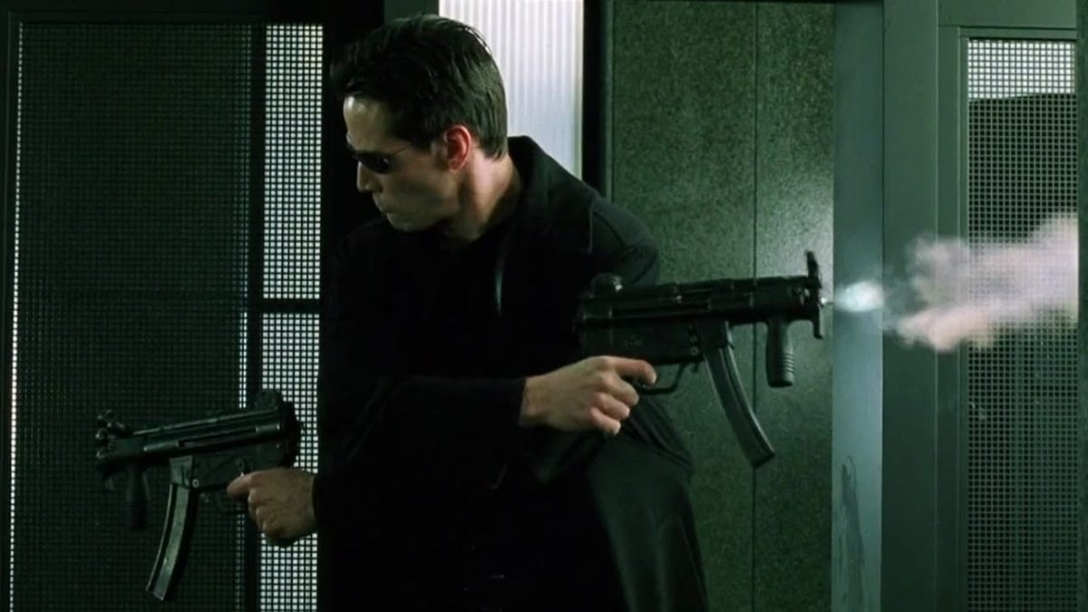 Sounds Like Keanu Reeves' Stunt Double on The Matrix Had a Hell of a Time thumbnail