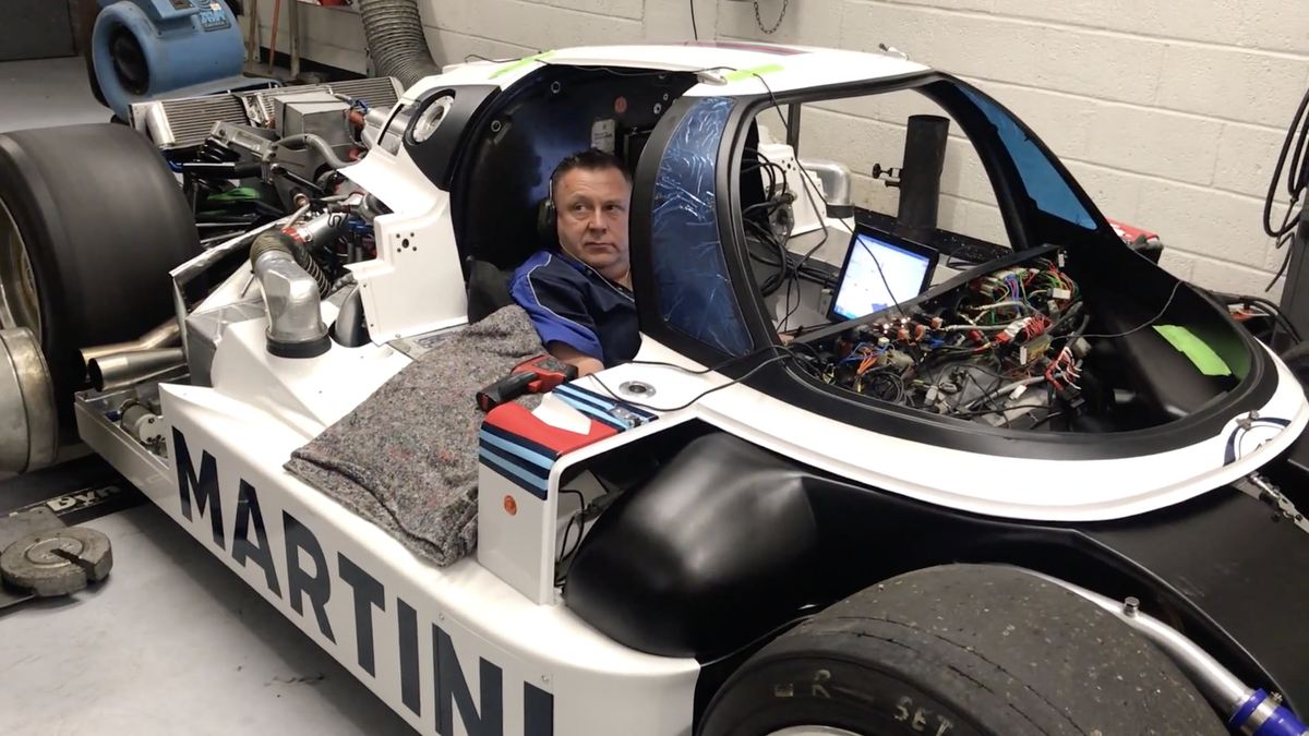 Listen To A Race Car Too Fast For Its Own Good