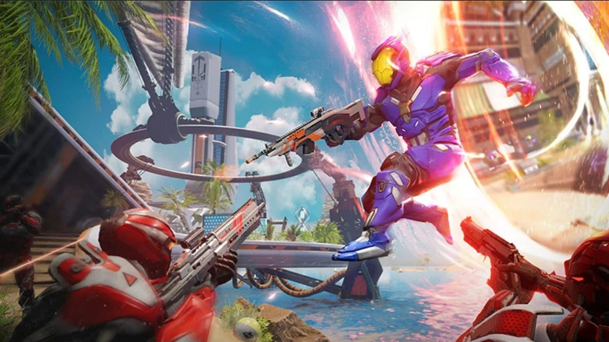 Splitgate Devs Say Popular Shooter Is Only '25% Complete'