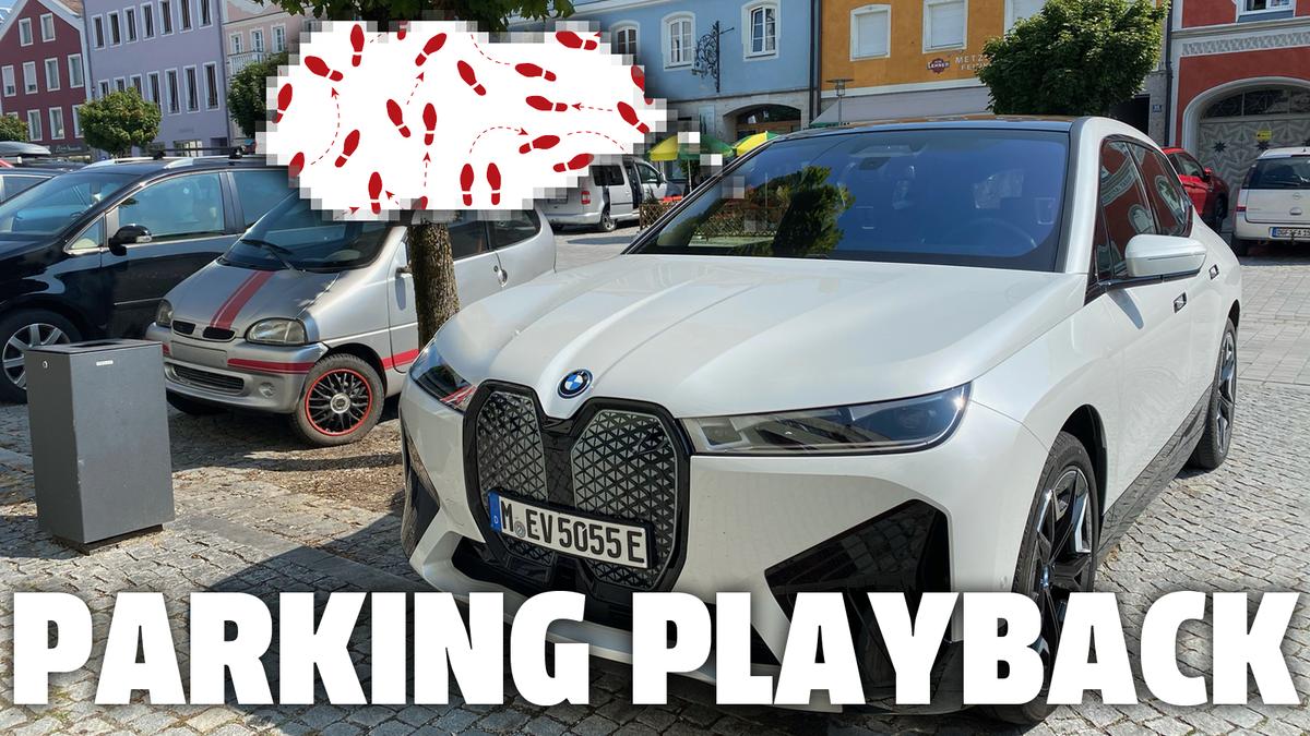 BMW bietet als erster Automobilhersteller die Möglichkeit, Fahrmanöver aufzuzeichnen und wiederzugeben