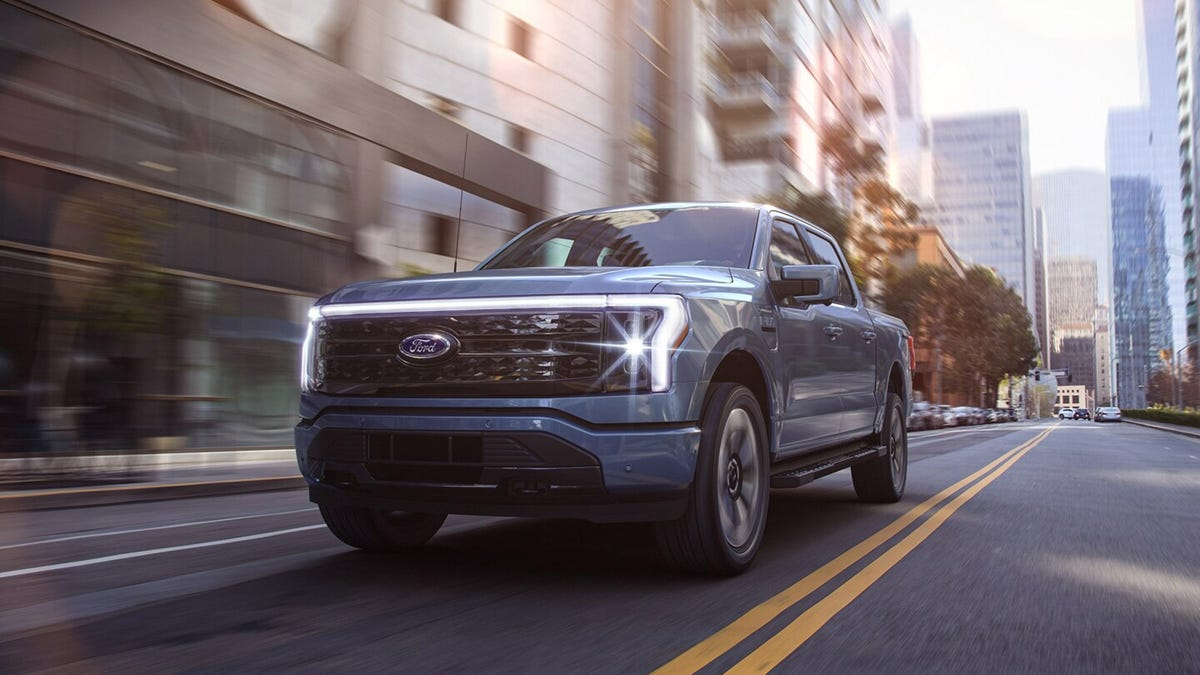 Ford F-150 Lightning Starts Under $40K With 563 HP And One Big Ass Frunk