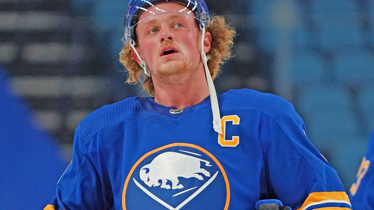 So Jack Eichel is definitely done in Buffalo