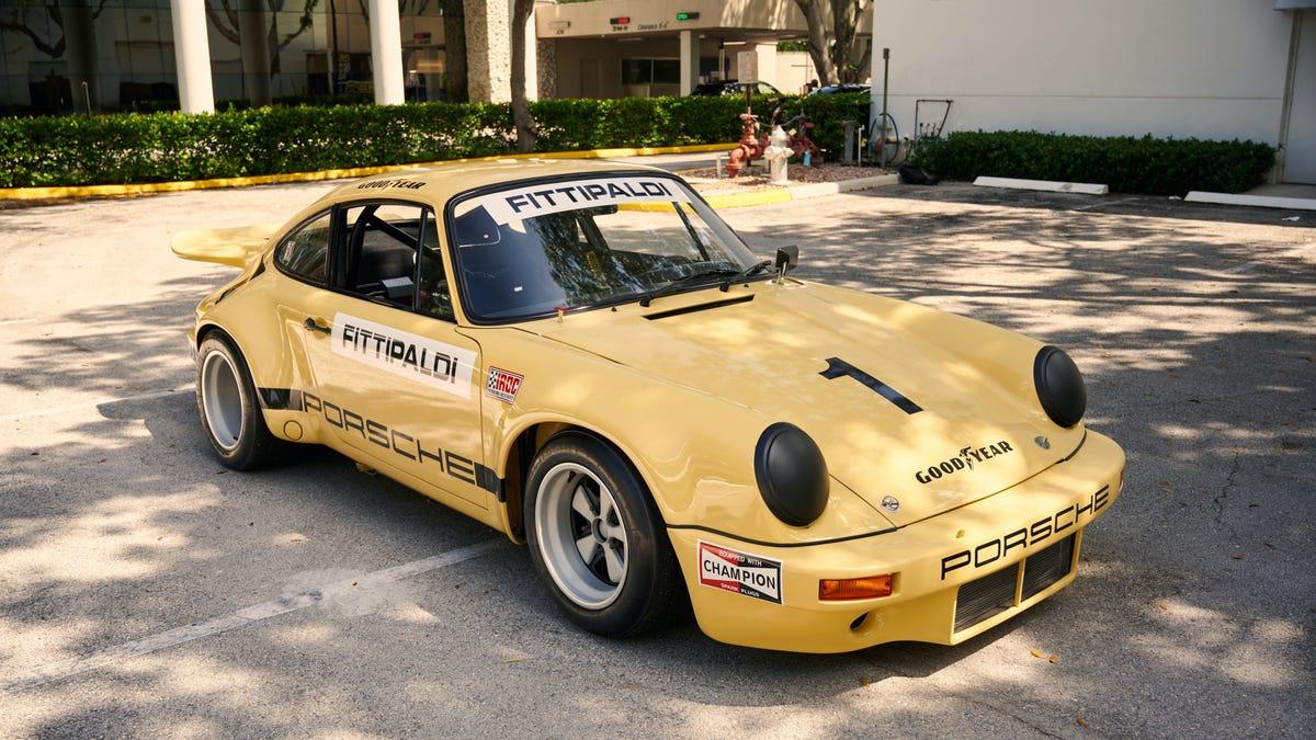 Yes, You Can Buy Pablo Escobar's 1974 Porsche 911 Carrera 3.0 RSR IROC