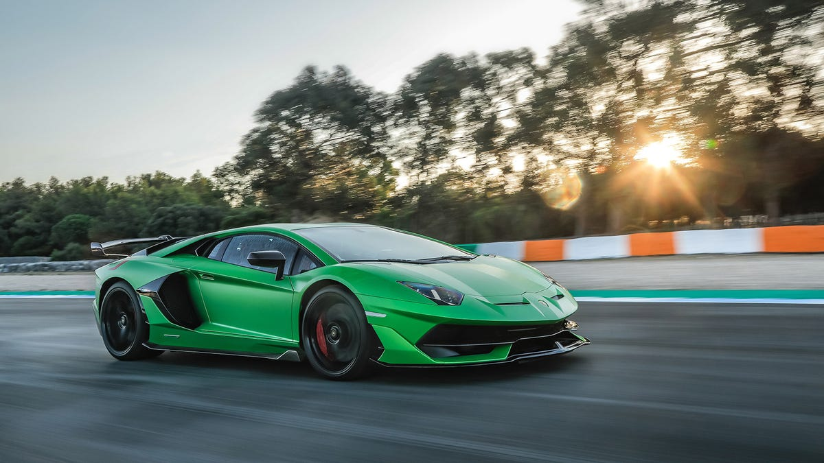 Lamborghini's Path To Electrification Starts With A Last Hurrah For The V12