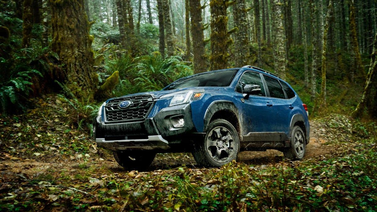 Subaru fügt dem Forester 2022 das Rugged Wilderness Package für $32.820€ hinzu