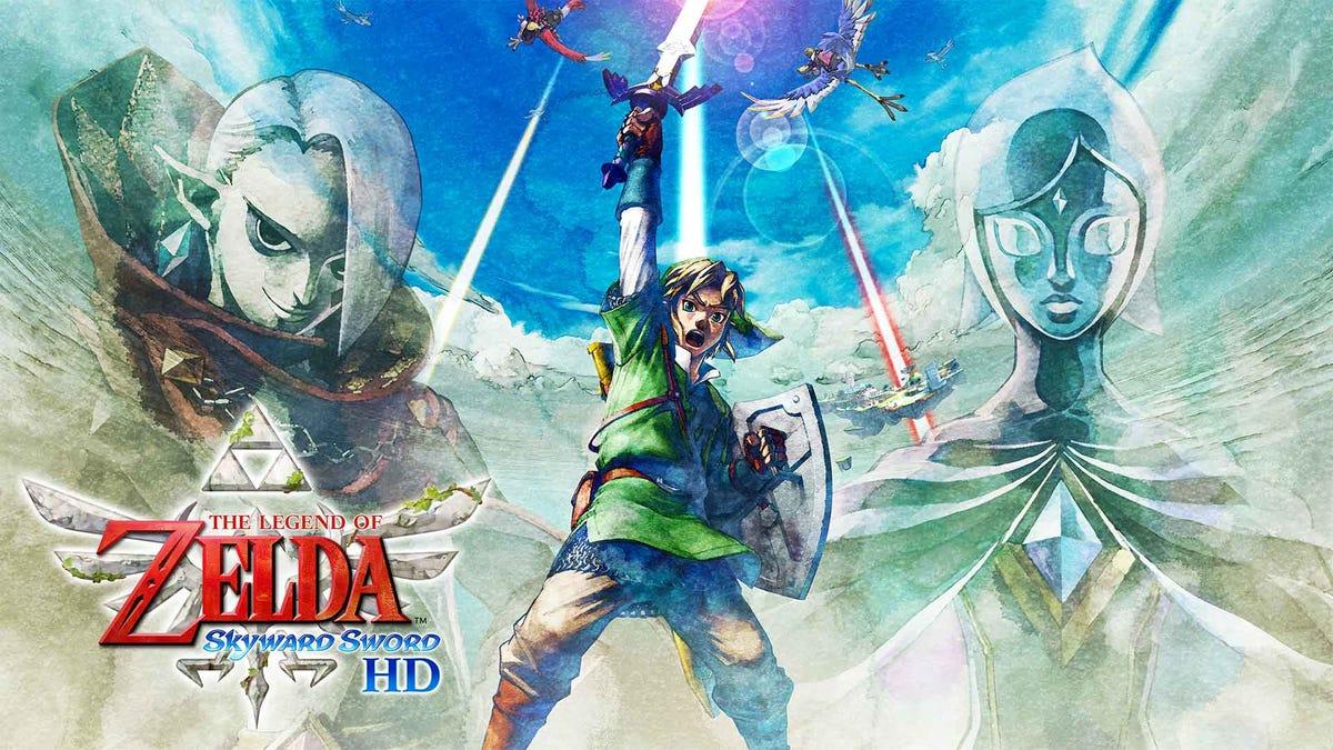 Nintendo Briefly Shows Off Skyward Sword HD Details