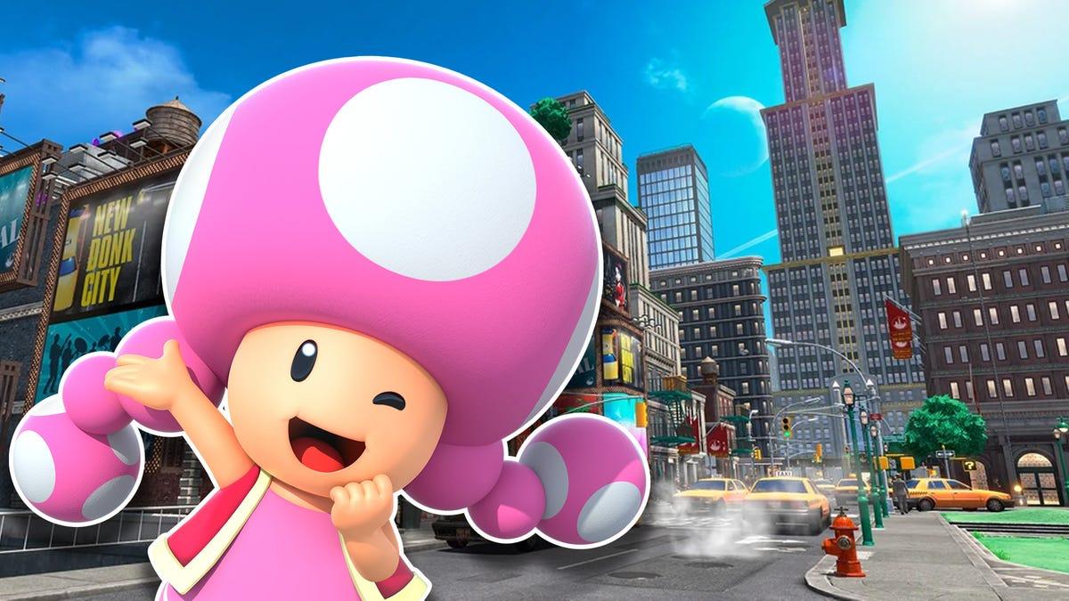 Finally, A New Mario Golf: Super Rush Course: New Donk City - Kotaku