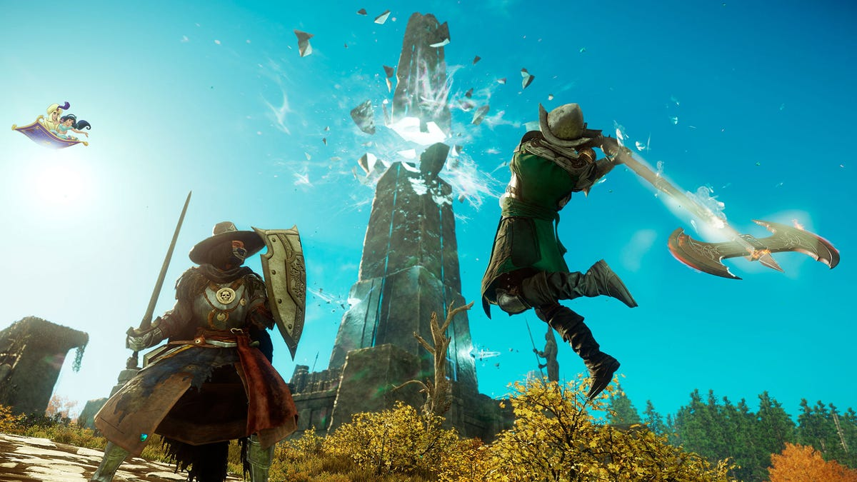 The Week In Games: A Whole New World, A Dazzling Place