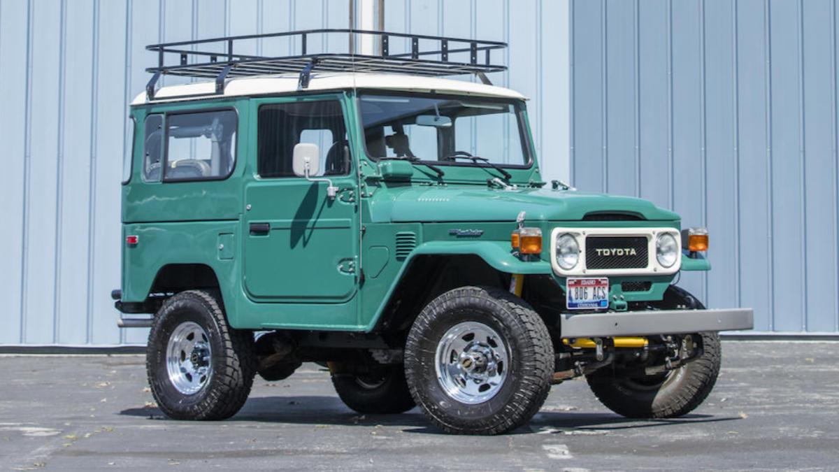 Tom Hanks Is Selling His Toyota FJ40 Land Cruiser At Auction
