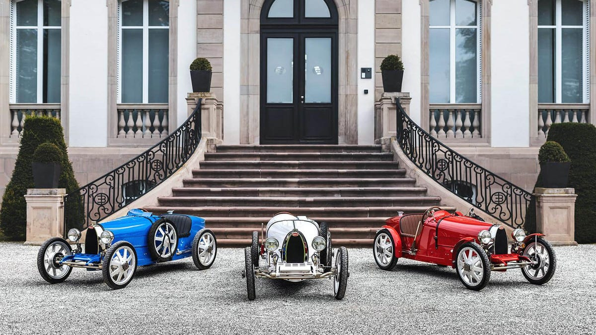 A Company In England Is Building Small, Drivable Replicas Of Classic Cars