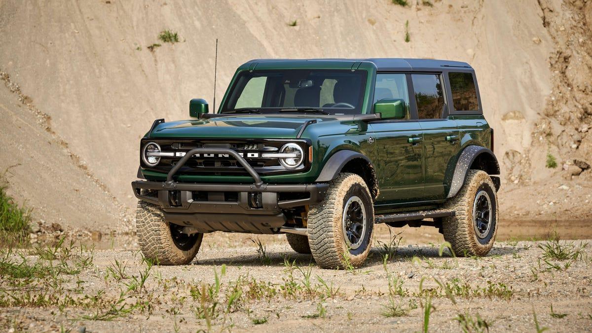 Der Ford Bronco 2022 wird in Grün erscheinen