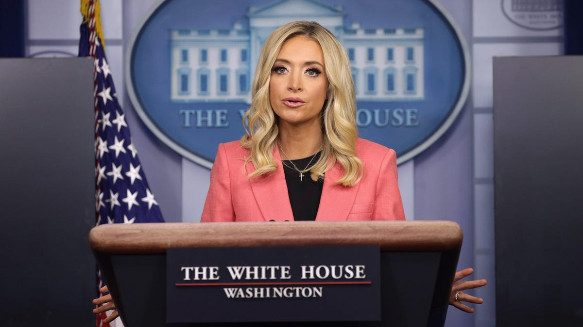 Kayleigh McEnany Insists She Never Lied as Press Secretary, Bless Her Heart
