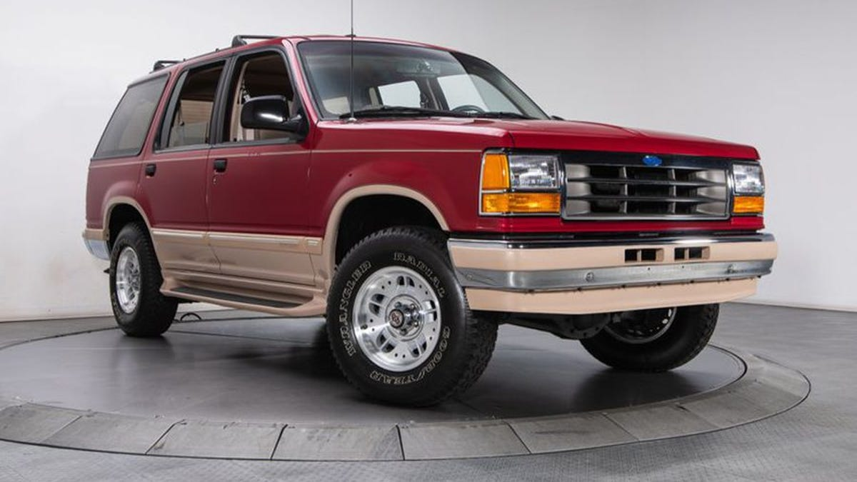 At $21,900, Is This 1994 Ford Explorer Eddie Bauer A Deal?