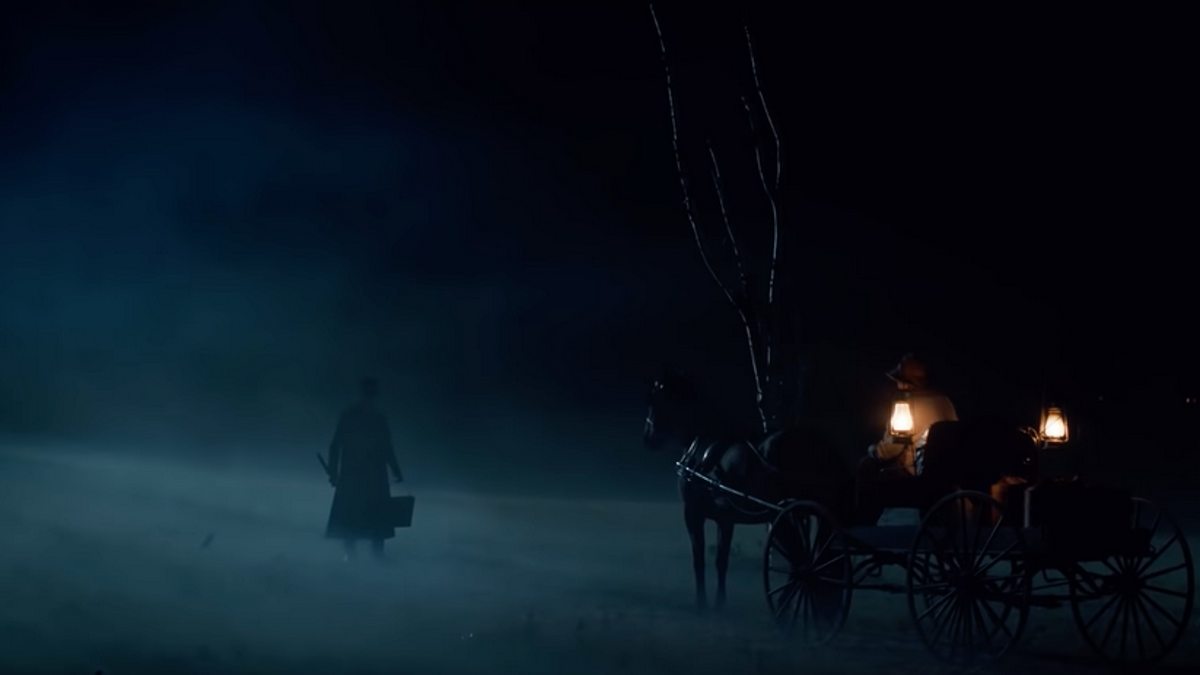 Adrien Brody bleeds in the trailer for Stephen King�s Chapelwaite