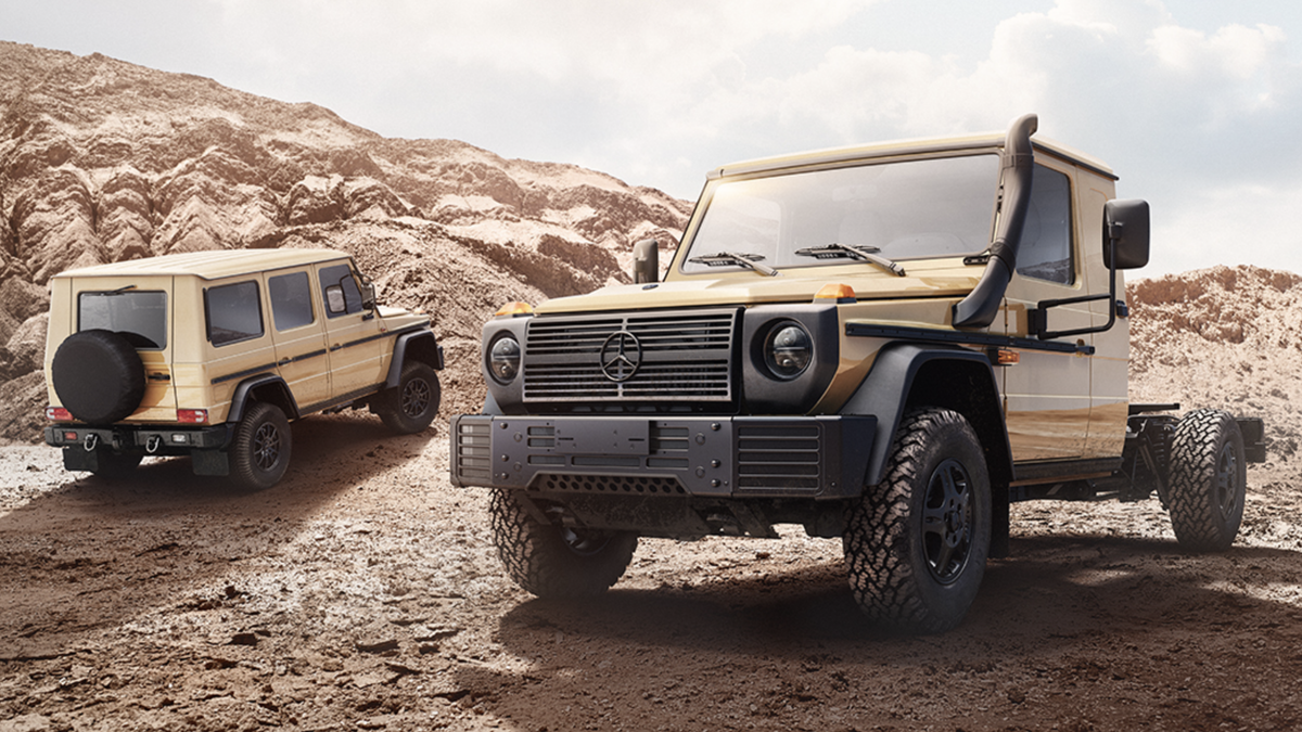 Mercedes-Benz wird eine aktualisierte Version des G-Wagens mit fester Achse verkaufen, aber wir können ihn nicht haben