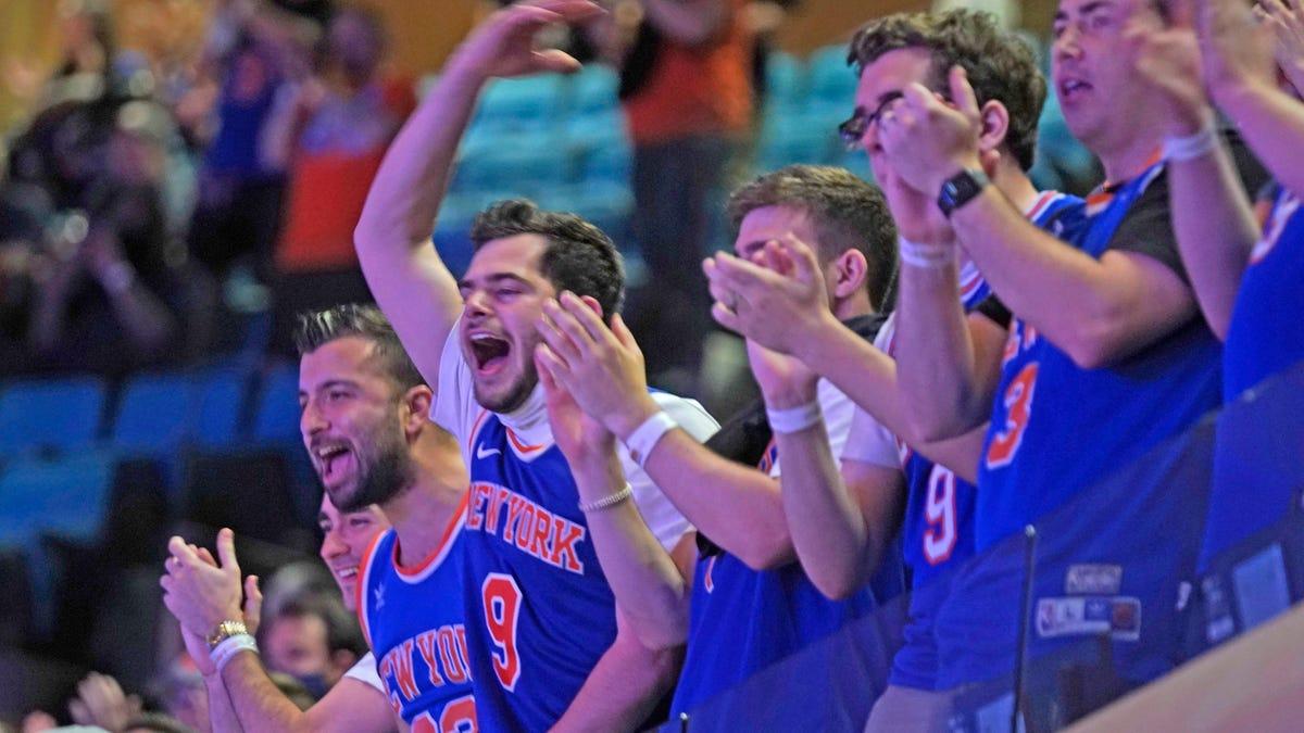 Basketball returns home