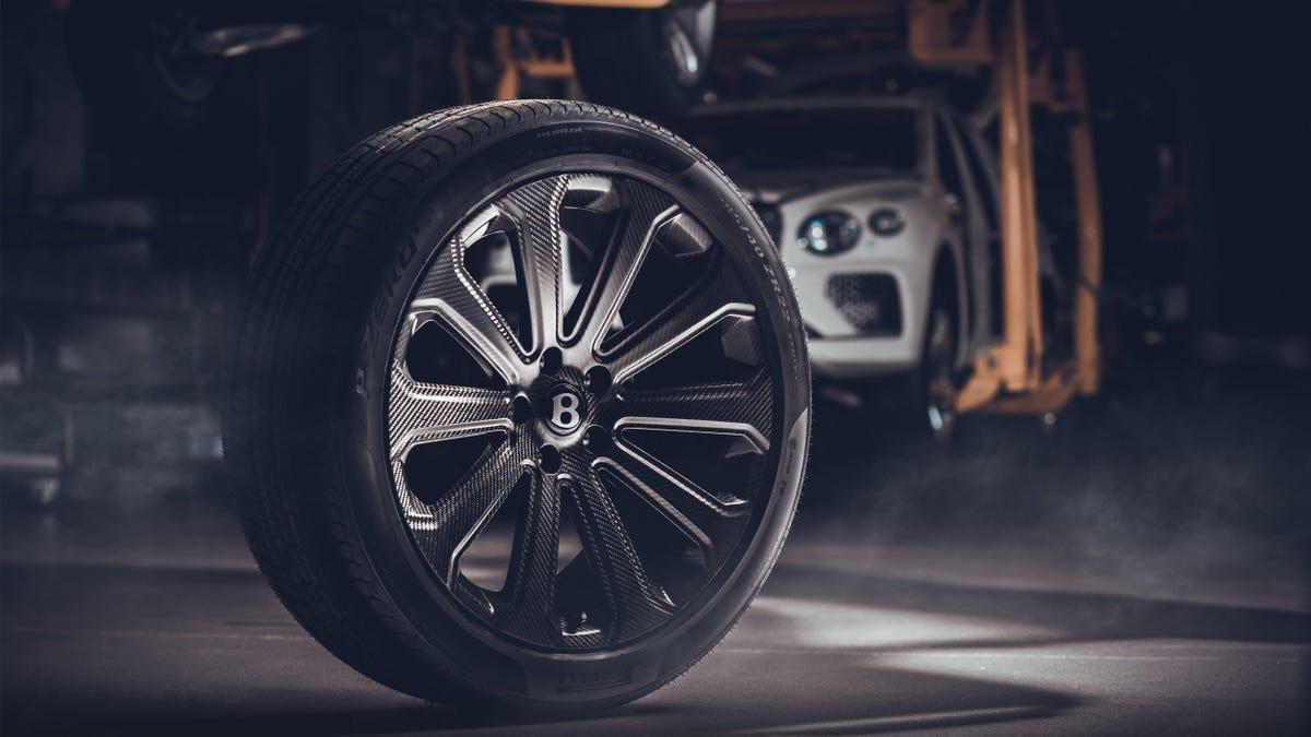 Bentley Bentayga Largest Carbon Fiber Wheels - Verve times